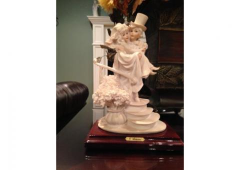 Armani Bride and Groom